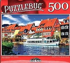 300 Large Pieces Jigsaw Puzzle p 004 LPF Puzzlebug Floral Arrangement with Cherries