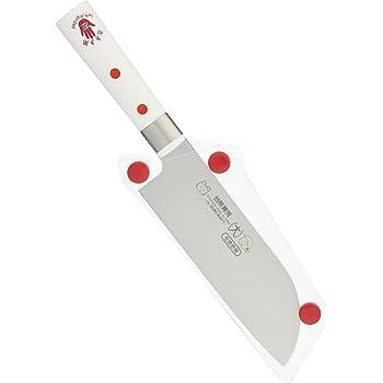 サンクラフト 包丁 大 左きき用 カバー付き 日本製 子どものための調理道具 台所育児 DI-55
