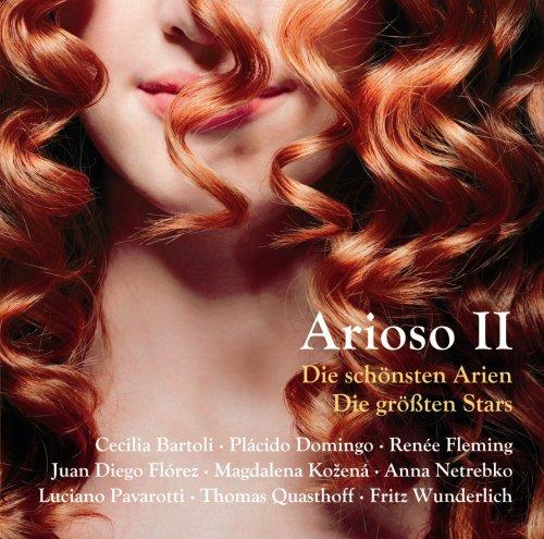 Arioso 2 - Die schönsten Arien - die größten Stars (inkl. Pavarotti: