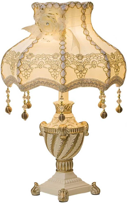JYXQC Tischlampe Schlafzimmer Kreative Prinzessin Zimmer Warmes Warmes Licht Retro-Hochzeit Dekoration Hochzeit Zimmer Luxus Nachttischlampen Europäischen Tischlampe B07HB2JV5X     | Lassen Sie unsere Produkte in die Welt gehen