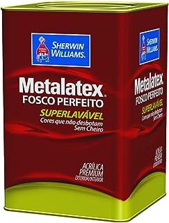 Tinta Acrílica Premium Fosca Metalatex Fosco Perfeito Branco 18 Litros