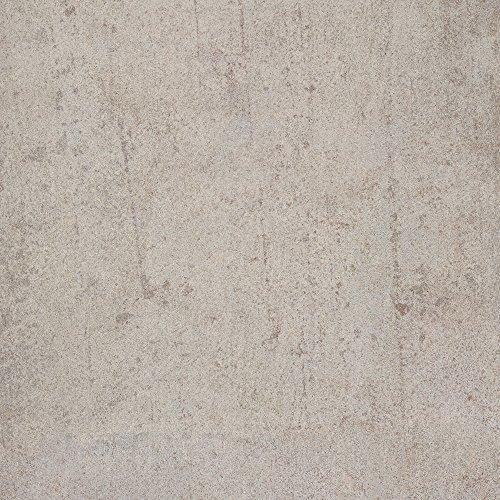 BODENMEISTER BM73340 Klick Laminat-Boden Steinoptik, rundum gefast 4 V-Fuge, Betonoptik Sicht-Beton hell grau, 605 x 282 x 8 mm