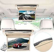 Reproductor de DVD estéreo para automóvil MP5 con Pantalla de 10 Pulgadas Reproductor Multimedia Soporte Universal de Techo TFT LCD USB para automóvil