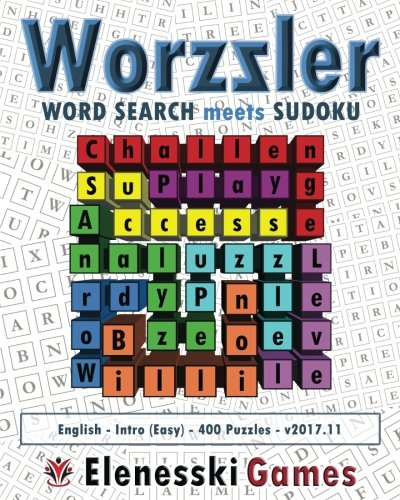 Worzzler (English, Intro, 400 Puzzles) 2017.11: Word Search meet Sudoku