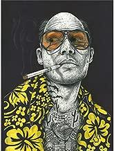 Wee Blue Coo Wayne Maguire Tattooed Fear & Loathing Hunter Inked Ikon Canvas Art Print