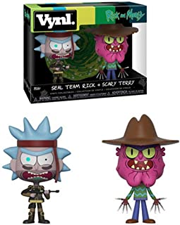 Funko pop 32264 VynlRick & Morty - Seal Rick And Scary Terry Collectible Figure, Multicolor