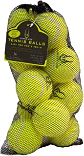 Hyper Pet Tennis Balls For Dogs [Pet Safe Dog Toys For Exercise & Training] (Brightly Colored Dog Tennis Balls, Easy To Locate)