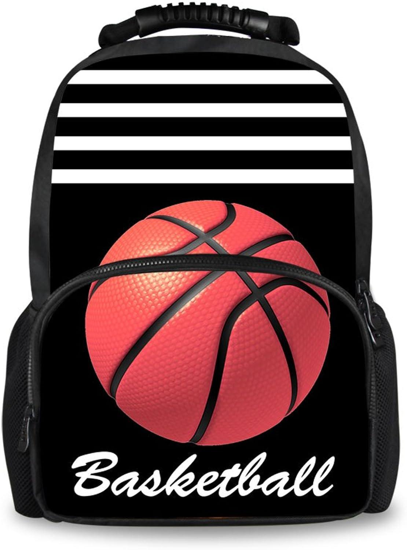 Showudesigns, Kinderrucksack Blau Basketball Einheitsgröße B07F67LGSQ | Online-verkauf