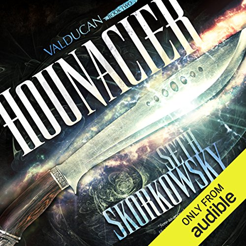 Hounacier audiobook cover art