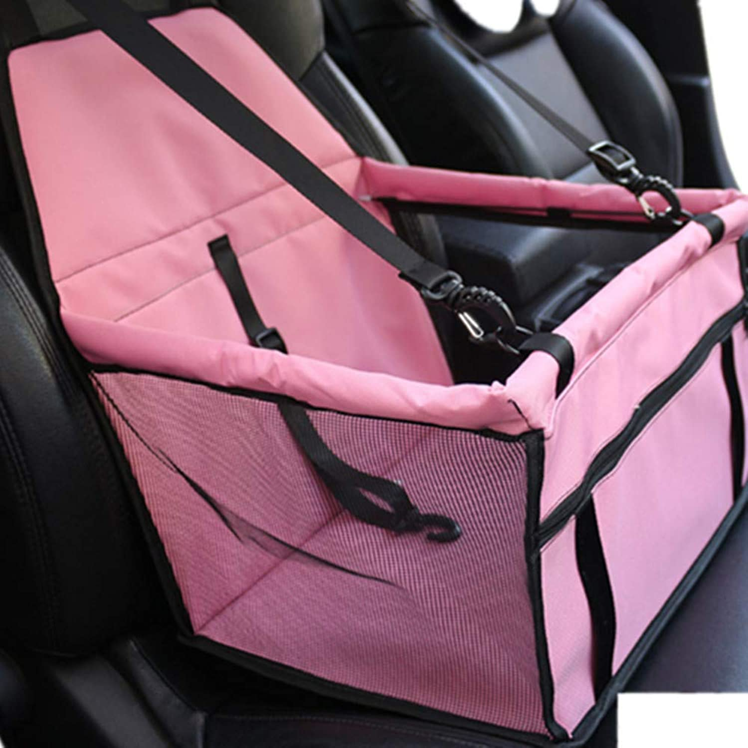 Pet Bag Breathable Waterproof DoubleLayer Wagon Pad Pet Height Seat Thickening Support Bar Suitable for Small Dogs and Cats