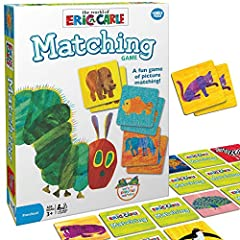 What you get – Eric Carle matching game comes with 72 tiles and instructions. Clear instructions – Easy to learn with a clear instruction manual. Learn to play in less than five minutes! Develops critical skills – this game helps preschoolers practic...