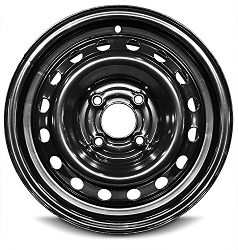 Road Ready Car Wheel For 2009-2014 Nissan Cube 15 Inch 4 Lug Steel Rim Fits R15 Tire - Exact OEM Replacement - Full-Size Spare