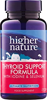 Higher Nature Thyroid Support Formula - Pack of 60 Capsules