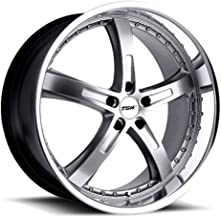 TSW JARAMA Silver Wheel with Painted Finish (19 x 8. inches /5 x 4 inches, 40 mm Offset)