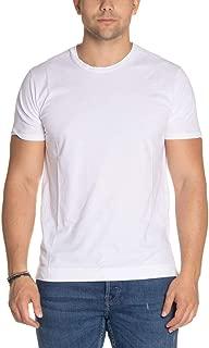 Daniele Fiesoli Luxury Fashion Mens DF627WHITE White T-Shirt | Fall Winter 19