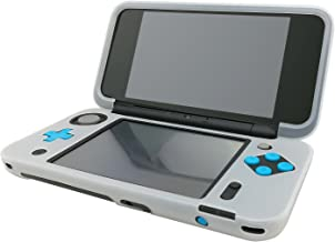 Silicone Case for New Nintendo 2DS XL, Protective Cover Skins for New Nintendo 2DS LL - White