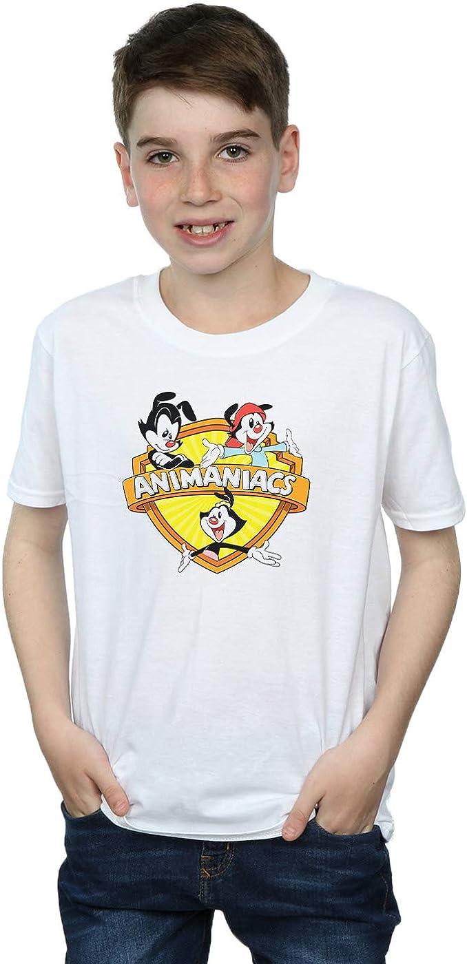 Animaniacs Boys Logo Crest T-Shirt