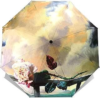 Van Gogh Oil Painting Umbrella Rain Women Brand Paraguas Creative Arts Female Sun And Rain Umbrellas,OUB06