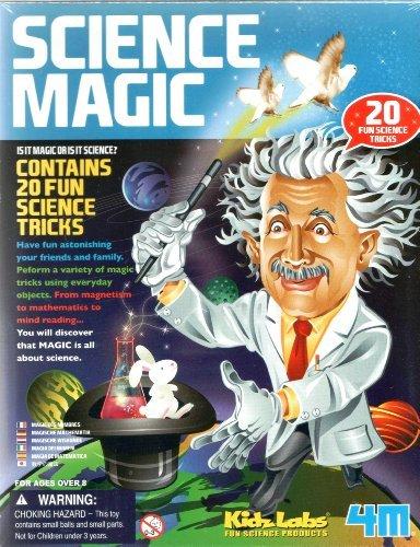 Kit d'expériences Scientifiques Magiques - Kidzlabs