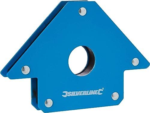 Magnete di saldatura Silverline 868731, 100mm