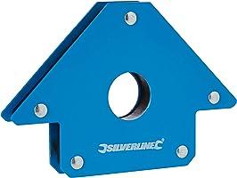 Silverline 868731 imán de soldadura, 100 mm