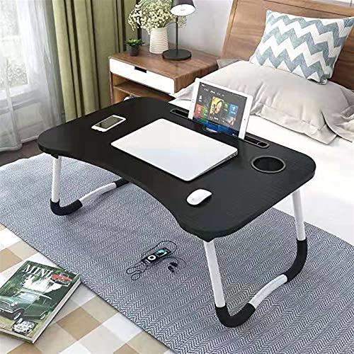 Escritorio de la computadora plegable plegable portátil del soporte del soporte del soporte de la computadora portátil para el escritorio de la computadora plegable para la cama del soporte de la mesa