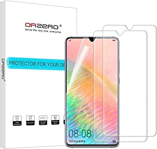 (3 Pack) Orzero for Huawei Mate 20 X HD (Premium Quality) Edge to Edge (Full Coverage) New Screen Protector(Upgraded), High Definition Anti-Scratch Bubble-Free (Lifetime Replacement Warranty)