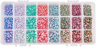 Best mother of pearl beads flat Reviews
