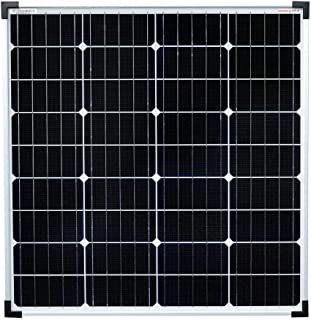 Enjoysolar® Mono Panel solar monocristalino de 80 W, ideal para caravanas, casas con jardín, barcos, etc.