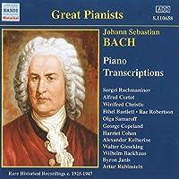 Bach: Piano Transcriptions
