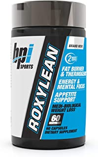 BPI Sports -Roxylean Extreme Fat Burner & Weight Loss Supplement, 60Count (Packaging May Vary)