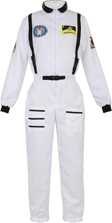 Popular standard Zhitunemi low-pricing Adult Halloween Astronaut Costume Dress C Women Up for