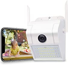 Outdoor Home Security Camera – 1080P 2.4G WiFi Night Vision Camera with LED Motion..