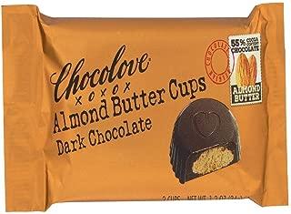 chocolove almond butter cups milk chocolate