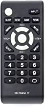 NS-RC4NA-17 Replace Remote fit for Insignia TV NS-24D510MX17 NS-55D510NA17 NS-55D510MX17 NS-24D510NA17 NS-32D310MX17 NS-32D310NA17 NS-39D310NA17 NS-40D510MX17 NS-40D510NA17 NS-48D510NA17 NS-50D510MX17