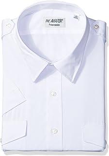 738a24e7b06 Van Heusen Mens Dress Shirts Short Sleeve Aviator Shirt Solid Spread Collar
