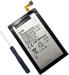 Civhomy Replacement ED30 SNN5932A Internal Battery for Motorola ED30 for Moto G SNN5932A XT1028 XT1031 XT1032 XT1033 XT1034 XT937C T1028 XT1008 XT1068 XT1064 ED-30 2010mAh 3.8V + Tool
