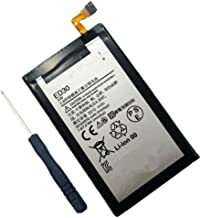 Civhomy Replacement Internal ED30 SNN5932A Battery for Motorola Moto G 1G 2nd Generation Forte 2013 T1028 T1028 T1028PP T1032 XT1008 XT1028 XT1031 ED-30 SNN5932A 2010mAh 3.8V with Free Tool