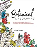 Botanical Line Drawing: 200 Step-by-Step Flowers,...