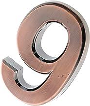 SM SunniMix Decoratieve nummerplaat voor deur huis accessoires - cijfers 9