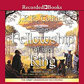 The Fellowship of the Ring     Book One in The Lord of the Rings Trilogy              By:                                                                                                                                 J. R. R. Tolkien                               Narrated by:                                                                                                                                 Rob Inglis                      Length: 19 hrs and 7 mins     34,839 ratings     Overall 4.8