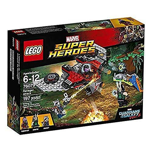 LEGO Marvel Super Heroes - Ataque de Ravager, Juguete de Construcción de Aventuras de los Guardianes de la Galaxia (76079)