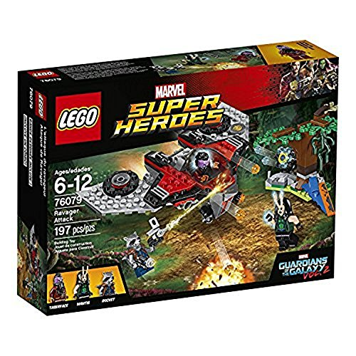 LEGO Marvel Super Heroes 76079 - Ravager-Attacke, Superhelden-Spielzeug