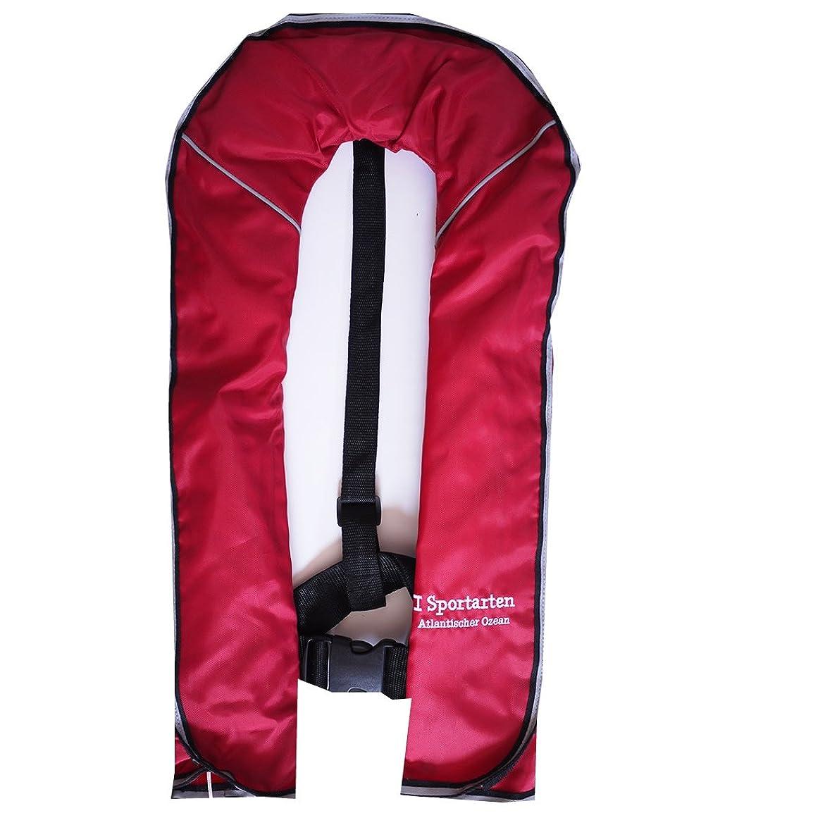 手順欠伸共産主義I sportartenアイシュポルテン ライフジャケット ベストタイプ 自動膨張式 -体重150kg対応