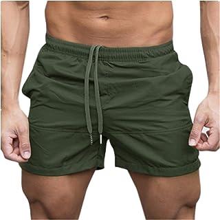 VPASS Pantalones Hombre,Verano Pantalones Casuales Moda