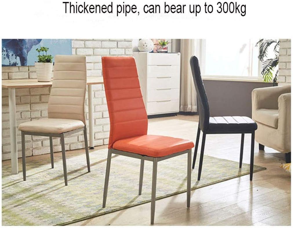 WJXBoos Tulip Dining Chair Jambes en métal Naturel avec Coussin rembourré Designer Contemporain pour Office Lounge Dining Kitchen (Couleur: Blanc) 1