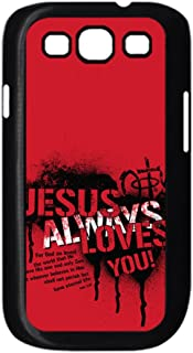 Tyboo Abs Child Design Christian Jesus Love You Abstract Phone Case For Samsung Galaxy I9300 S3
