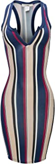 Best striped bodycon dress Reviews