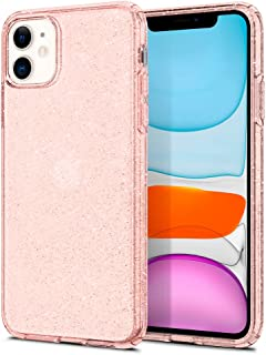 Spigen Liquid Crystal Glitter Designed for Apple iPhone 11 Case (2019) - Rose Quartz