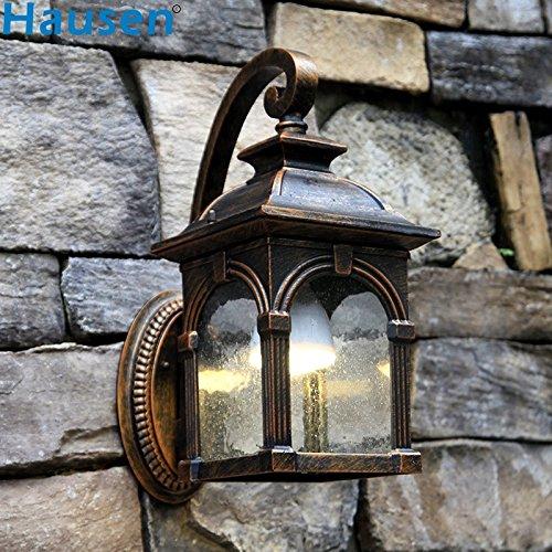 JJZHG Wandlamp, waterdicht, wandverlichting, outdoor, wandlamp, grote boog, tuin licht, vinyl, gang, licht, balkon, licht, deurlicht inbegrepen, wandlamp